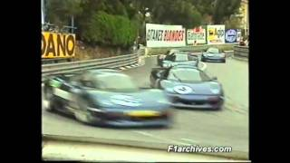 XJR 15 MONACO F1 RACE, MURRAY WALKER COMMENTATES, 1991