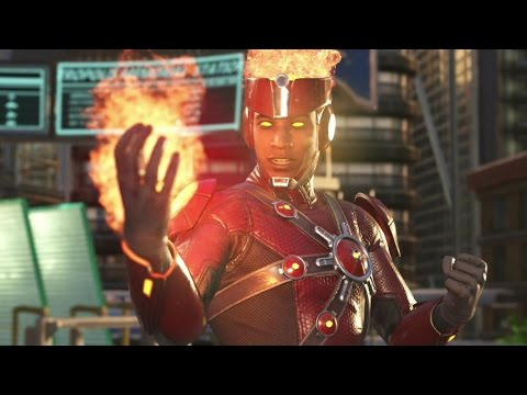 Injustice 2 : Firestorm All Intro Dialogues