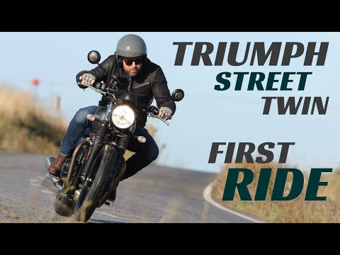2019 Triumph Street Twin First Ride