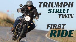 2019 Triumph Street Twin First Ride