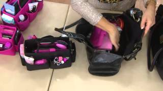 Ready Set Go Bag Organizer by Lori Greiner with Lisa Robertson