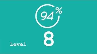 94 Prozent (94%) - Level 8 - Das haben wir alle schon gespielt - Lösung