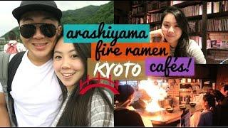 Kyoto Vlog   Day 4: Bamboo Forest, Fire Ramen, Kinkakuji & Cool Cafés