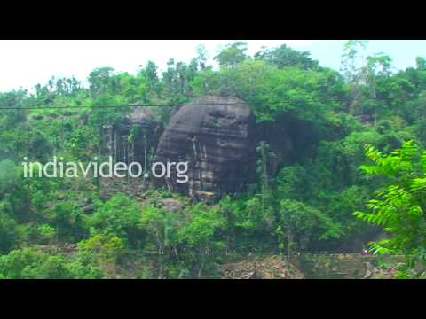 Bleeding Rock in Dawki, Meghalaya