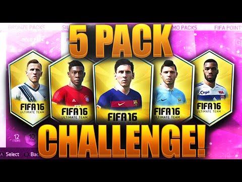 5 PACK CHALLENGE EPISODE 1 LETS GET STARTED!!! FIFA 16 ULTIMATE TEAM