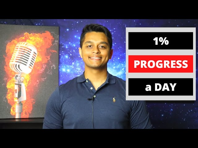 1% Progress a Day: Self improvement Mindset to reach Exponential Progress