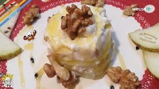 366 - Tortino di formaggio e pere..al contadino non far sapere (ricetta easy dolce toscano genuino)