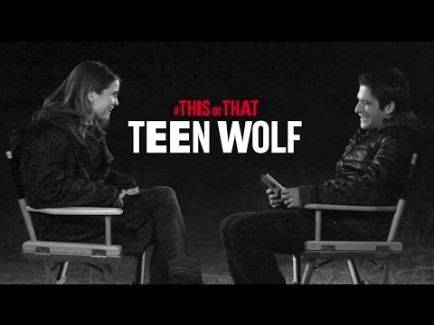This or That with Tyler Posey & Shelley Hennig part 1