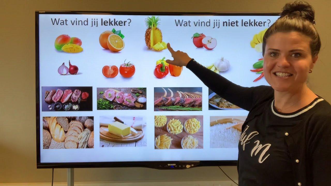 Download NT2 40 groente paprika fruit appel vlees kip slager bakker markt! TC4.1 #nederlandsleren #learndutch