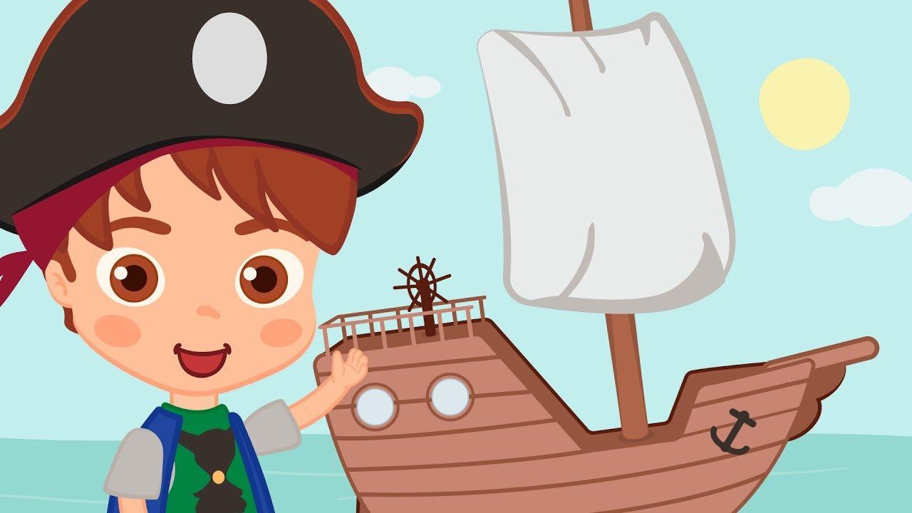 Um Barco Pequenino Música Infantil Hd Youtube