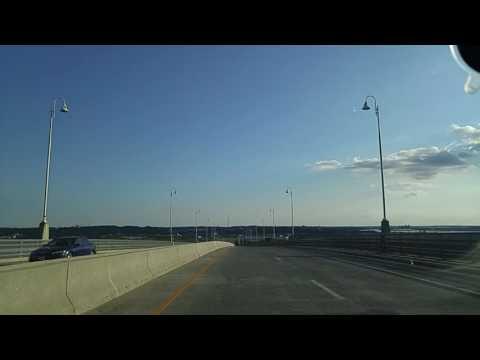 Driving from Perth Amboy to South Amboy,New Jersey