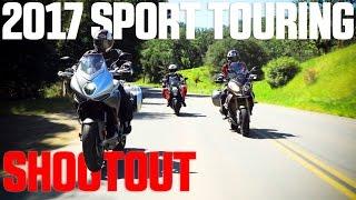 2017 Sport Touring Shootout - BMW S1000XR vs. KTM Super Duke GT vs. MV Agusta Turismo Veloce | 4K