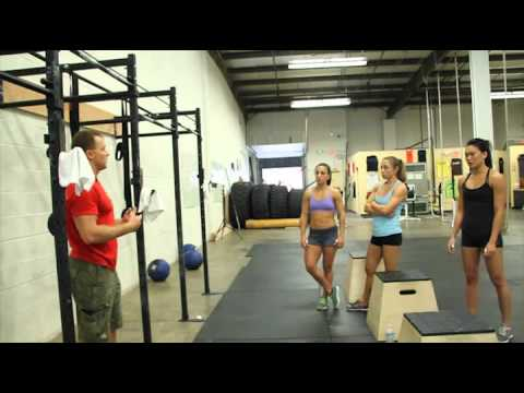 CrossFit - WOD 110926 Demo with CrossFit Fairfax