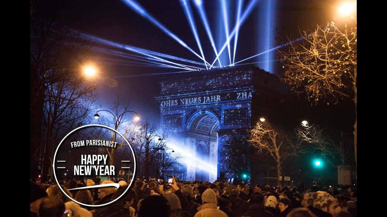 Paris New Year s Eve 2015  Amazing Fireworks at the Arc de Triomphe     Paris New Year s Eve 2015  Amazing Fireworks at the Arc de Triomphe    YouTube