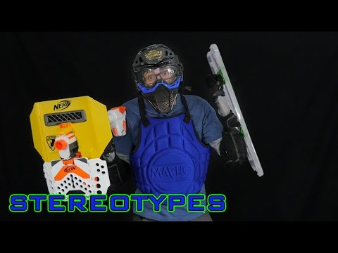 NERF STEREOTYPES | THE WIMP