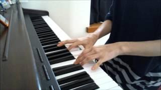 ダレニモイワナイデ/真野恵里菜 ピアノ弾き語りです。