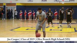 joe cooper   class of 2019   olive branch high school ms