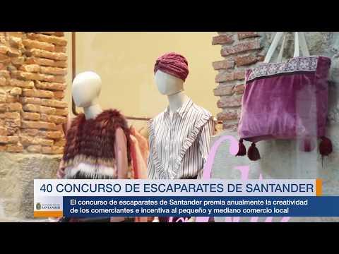 40 concurso de escaparates de Santander