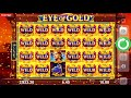BEST ONLINE SLOTS Eye Of Gold Big Free Spins Win