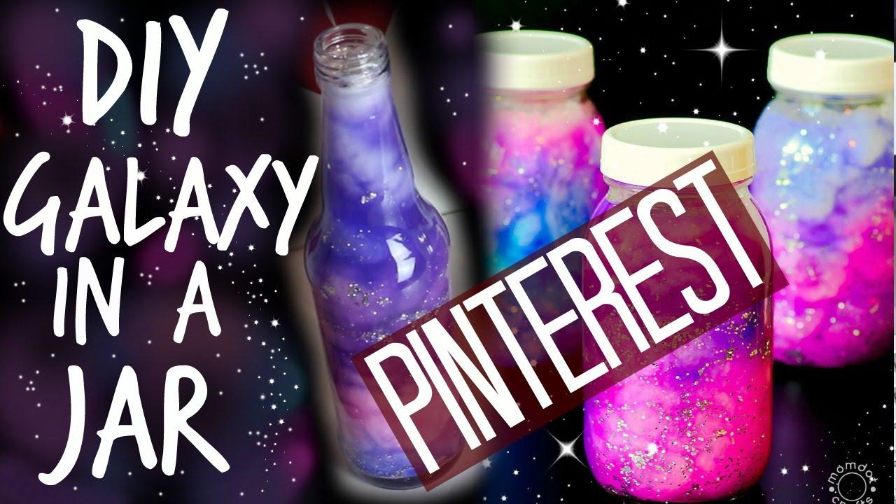 Diy Galaxy Jar Room Decor Pinterest Maddie Ryles