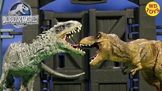 New Jurassic World Movie Toys Indominus Rex Vs T-Rex TYRANNOSAURUS REX Limited Edition