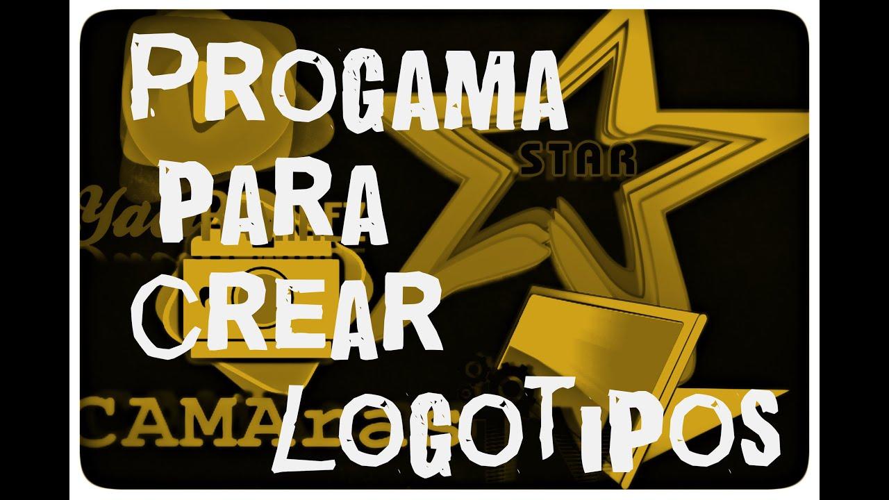 programa para hacer logos portable logo app youtube