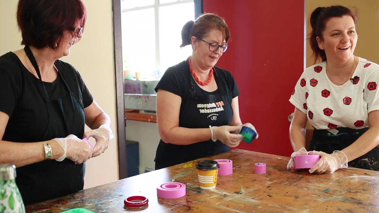 Resin Art - Sydney Community College