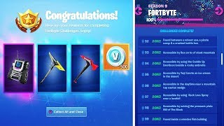 All REWARDS for 100 Fortbytes in Fortnite