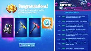 Tous les REWARDS pour 100 Fortbytes à Fortnite