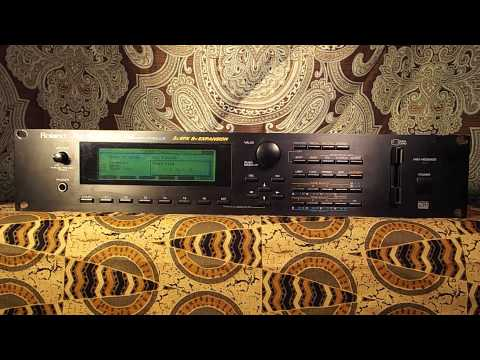 Roland JV-2080 Synthesizer Demo Songs