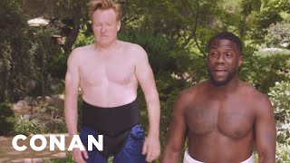 "Kevin Hart On ""What The Fit"" & Sumo Wrestling With Conan  - CONAN on TBS"