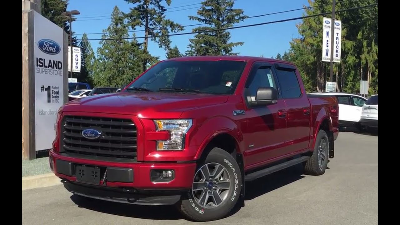 2016 ford f 150 xlt fx4 sport supercrew 4x4 w power driver seat review island ford youtube. Black Bedroom Furniture Sets. Home Design Ideas