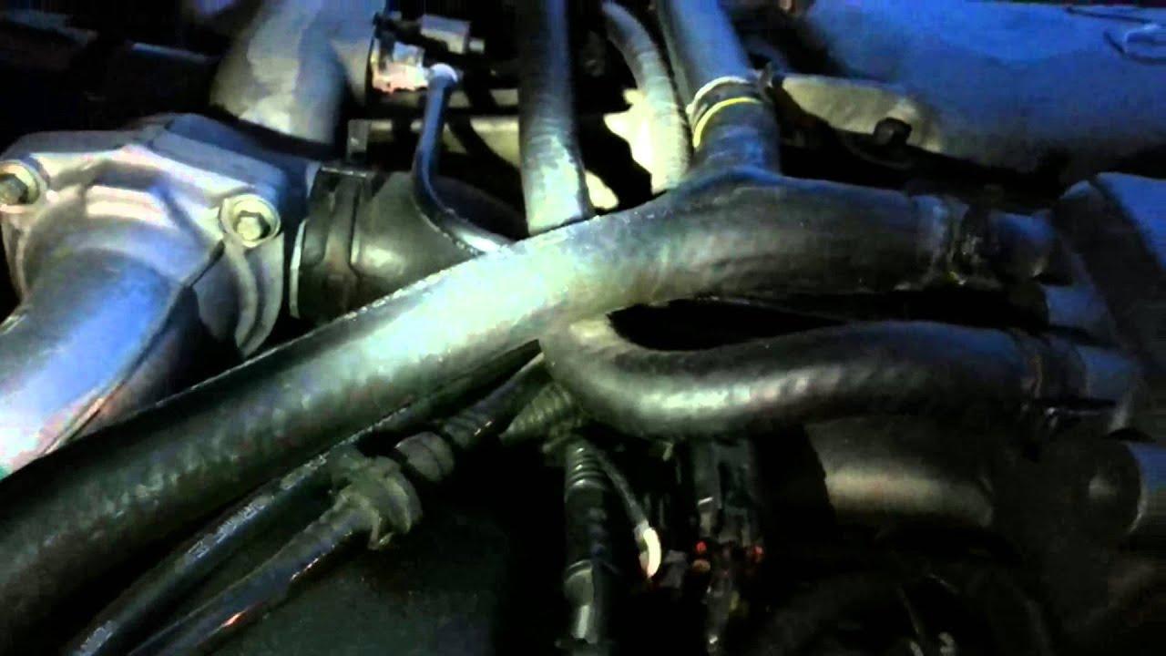 1998 jaguar xjr coolant leak investigation youtube 1998 jaguar xj8 engine coolant diagram [ 1280 x 720 Pixel ]