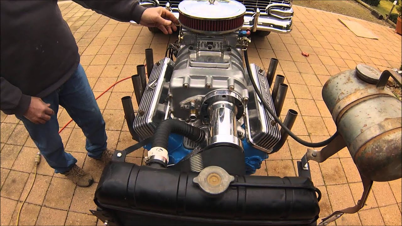 Ford Y Block 4/71 Supercharged YBLOKE Blower manifold