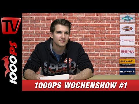 1000PS Wochenshow #25 - Neuigkeiten und Nachrichten von 1000PS