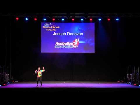 2015 Australian Dance Festival - Joseph Donovan
