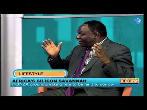 Bitange Ndemo discusses Konza project