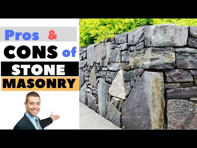 Pros and Cons of Stone Masonry | Civil Engineering Videos