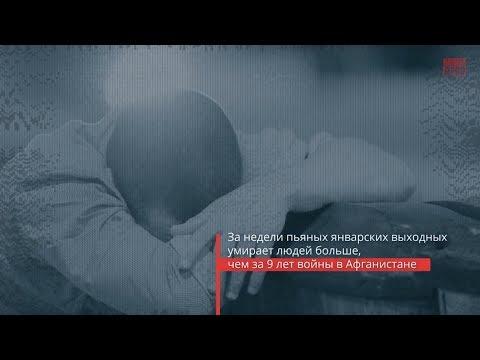 Праздники должны быть трезвыми! Статистика на примере РФ.