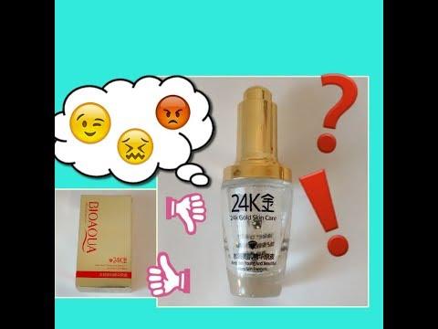 Suero facial con oro bioqua 24K (24k Gold Skin Care)