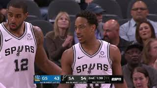 Golden State Warriors vs San Antonio Spurs | March 18, 2019