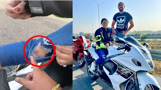 Pehli Superbike Ride Pe Meri Friend Ka Accident Hogya