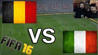 Belgium vs Italy | EURO 2016 | 13/6/16 - FIFA 16