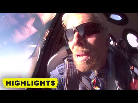 Watch Virgin Galactic launch Richard Branson to space (first zero G!)