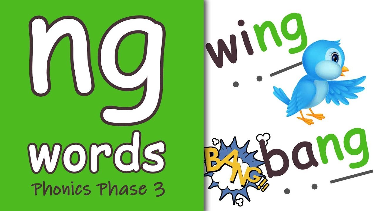 Download 'ng' Words | Blending Phonics Phase 3