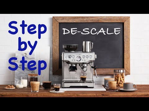 Breville De-Scale - Step by Step Instructions