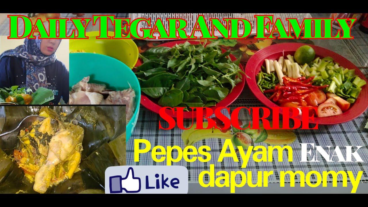 Resep Pepes Ayam Enak Lezat dari dapur Momy - YouTube