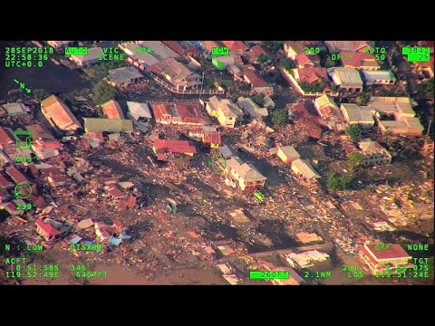 Indonesia earthquake tsunami: hundreds killed