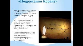 А.С.Пушкин. Подражание Корану
