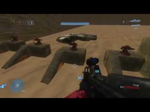 Halo 3 Mods: Custom AI Forge Map - GET TO THE CHOPPER!!